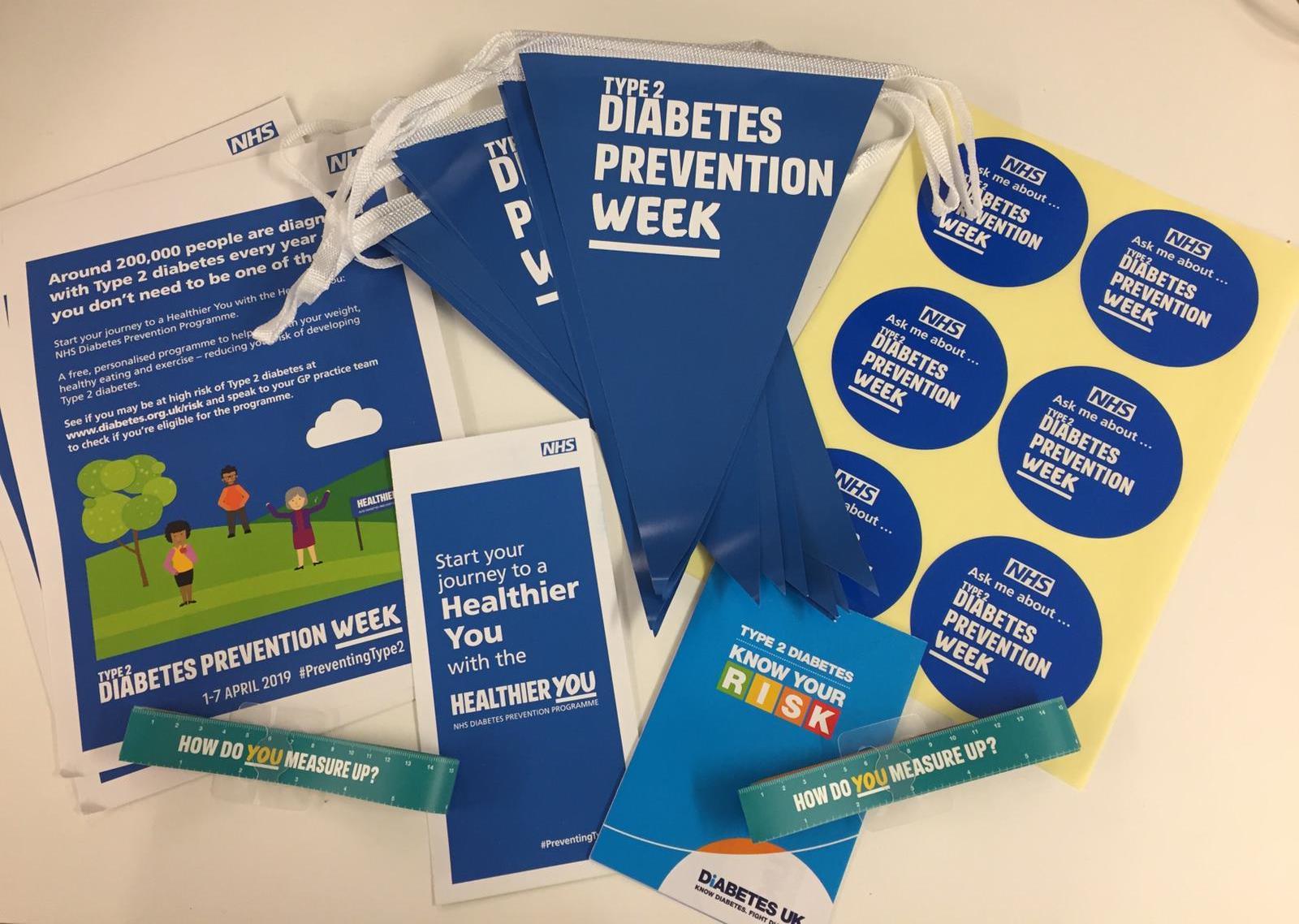 Type 2 Diabetes Prevention Week image