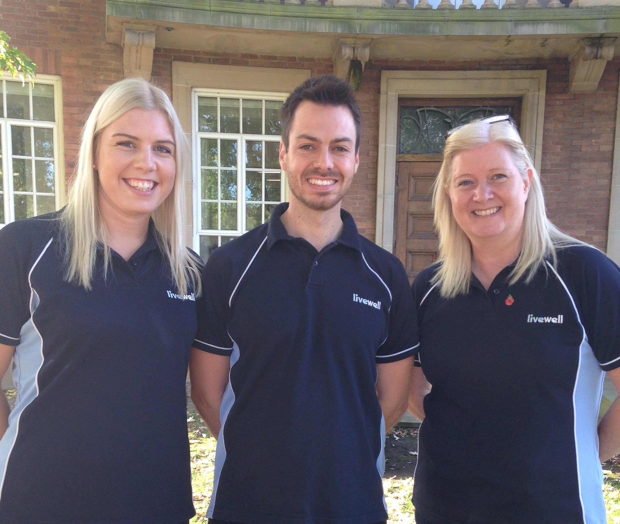 Livewell's health check team
