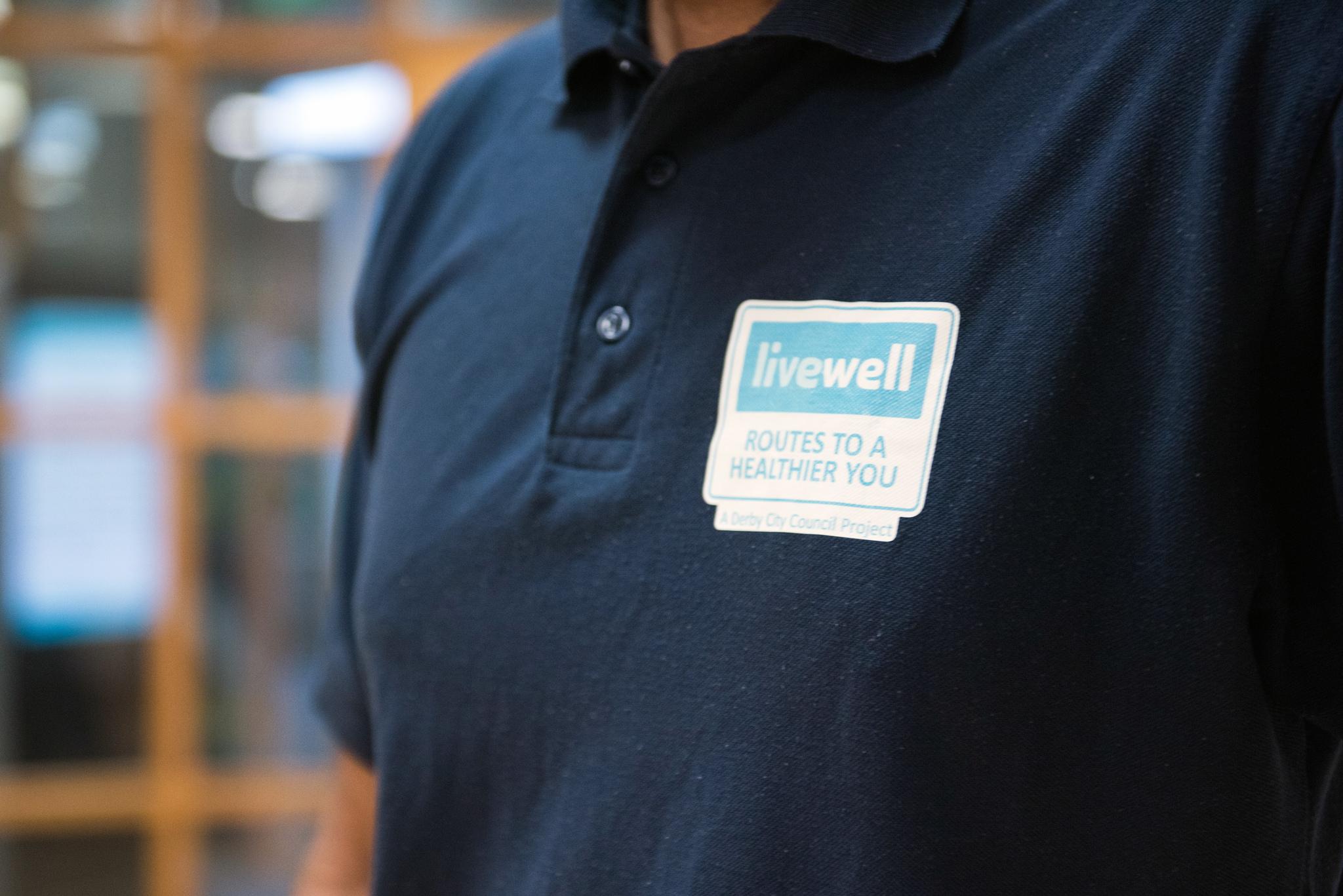Image of Livewell logo on uniform