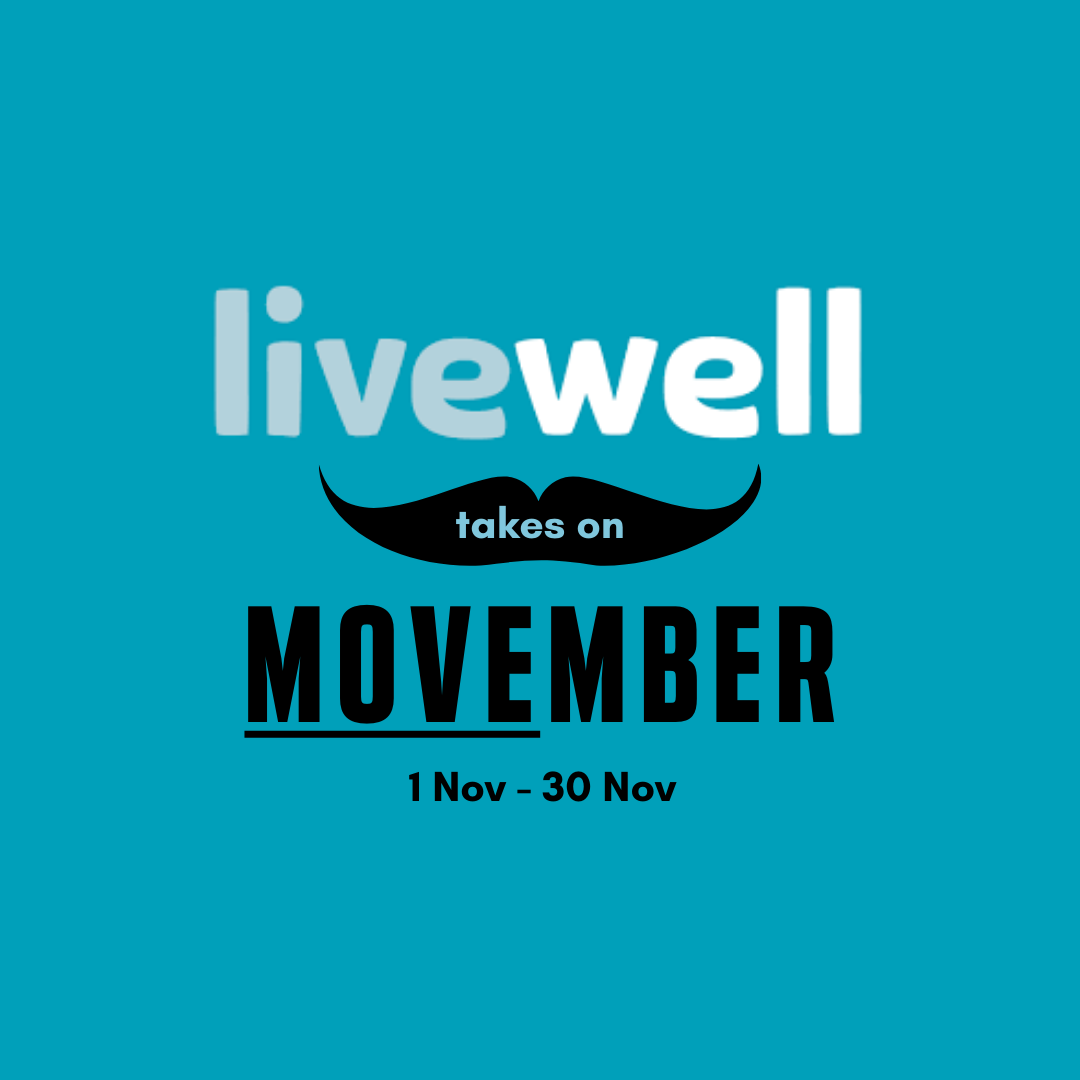 Livewell and MOVEmber logo