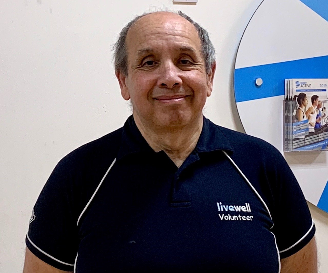 Livewell volunteer Norman