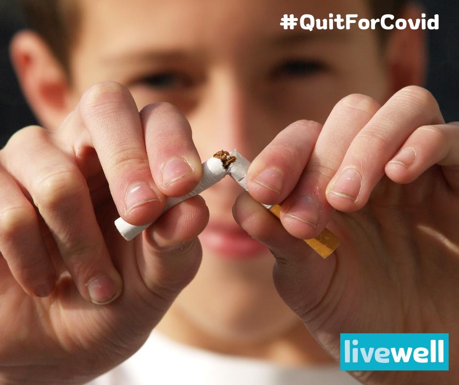 Livewell stop smoking image