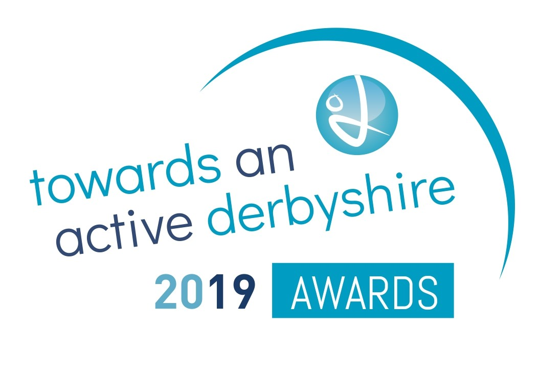 Towards an Active Derbyshire Awards logo