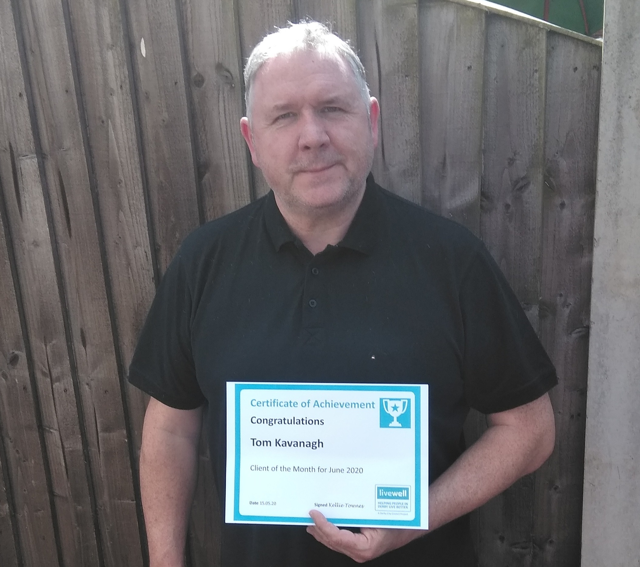 June Client of the Month - Tom Kavanagh