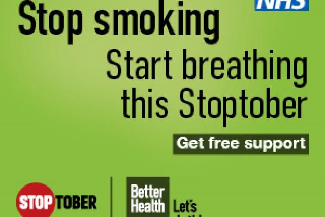 Stoptober campaign image
