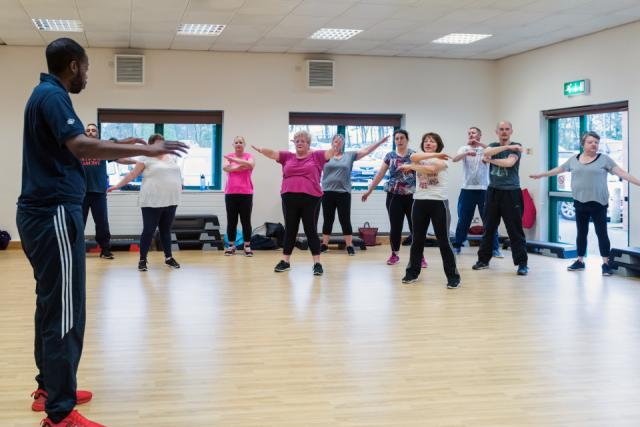 Image of Livewell exercise session