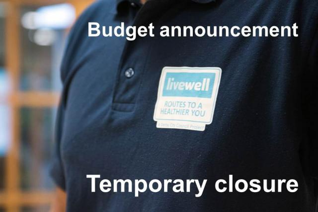 Image of Livewell budget announcement