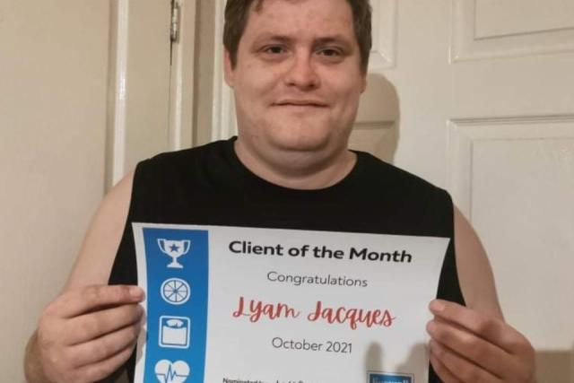 October Client of the Month - Lyam