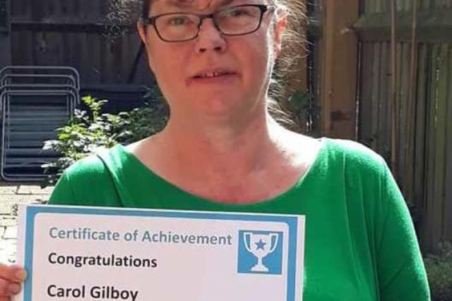 Client of the Month - Carol Gilboy
