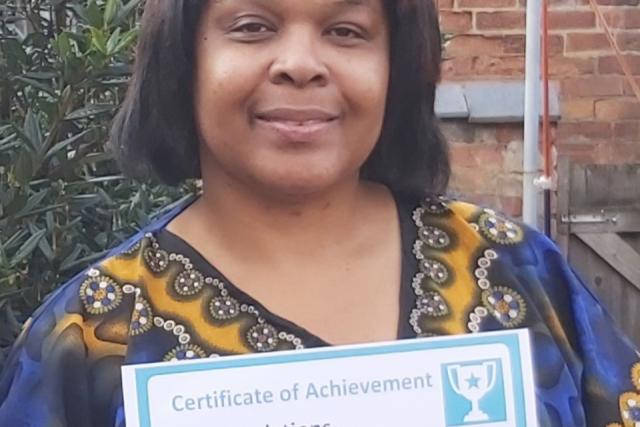 October Client of the Month - Pauline