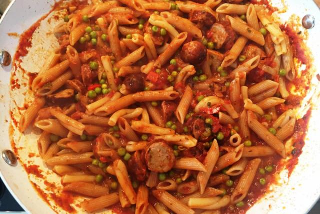 Easy Peasy Pasta Dish