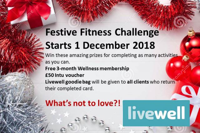 Image of Festive Fitness Challenge 2018/2019