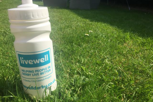 Livewell exercise in the park image