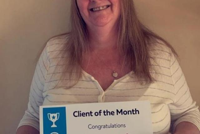 April Client of the Month - Kerry Little