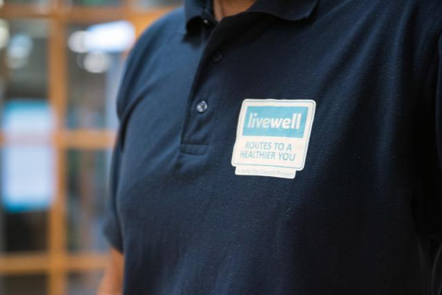 Image of Livewell logo on uniform