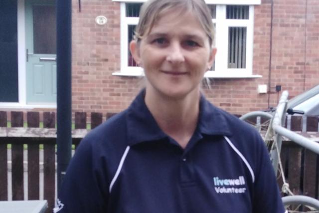Livewell volunteer - Nicky Stevenson