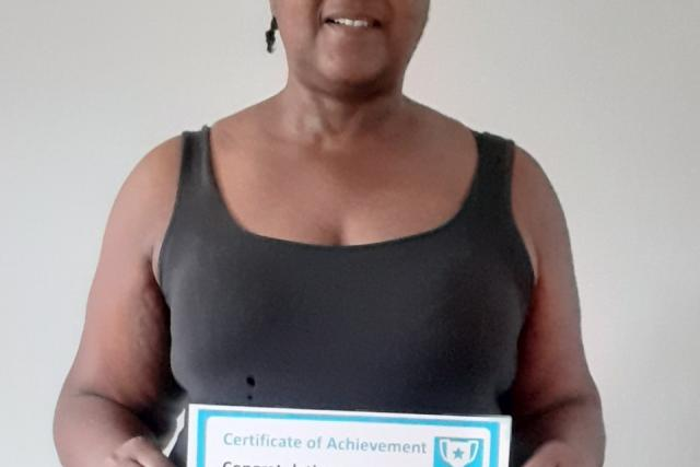 November Client of the Month - Abena Halliday-Fox