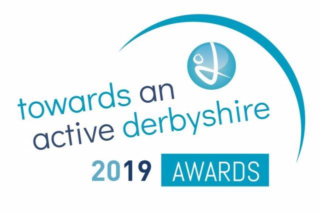 Towards an Active Derbyshire Awards logo